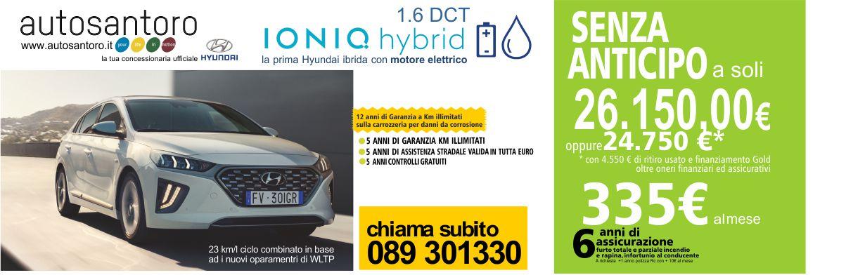 Hyundai Ioniq Hybrid 1.6 DCT
